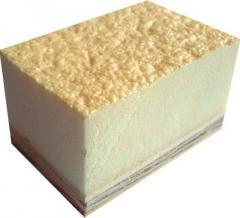 Polyurethane for filling