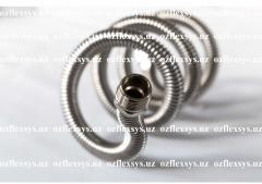 Flexible metal hoses from stainless steel