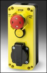 Блок управления с аварийной кнопкой GM401