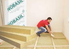 Thermal insulation for underfloor heating