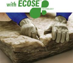 ECOSE ® thermal insulation material layered