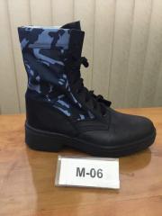 Ботинки с высокими берцами М 06