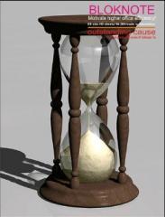 Блокнот Старинные часы