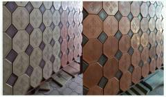 Flooring antiskid tile