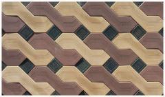Плитка для декоративного оформления тротуаров