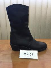 Сапоги женские М 406