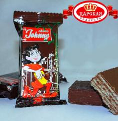 "The wafers of ""Choko Johnny"""