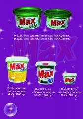 Gel for washing of ware of MAX Maya