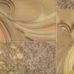Linoleum of the Water color series