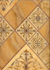 "Linoleum of the Ornament series ""Standard"