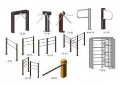 TE 09 turnstile