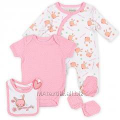 Sets for newborn children.