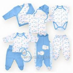 Комплекты для новорожденных детей.