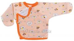 Baby's undershirt for newborn children.