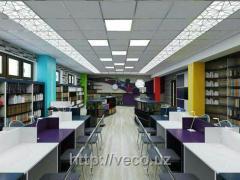 Потолочная плита Армстронг для офисных центров