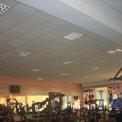 Потолок гипсовый Армстронг для спортивных залов
