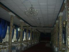 Потолок гипсовый Армстронг для залов