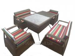 Мебель плетеная из искуственного ротанга.
