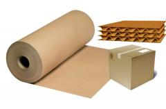 Cardboards for flat layers of corrugated