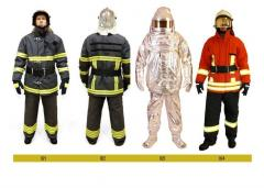 Fire fighting clothing