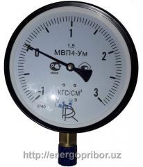 Мановакуумметр МВП4-у от -1 до +9 кг