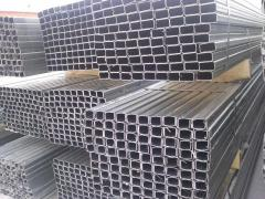Profiles for gypsum cardboard, an alyukobonda and