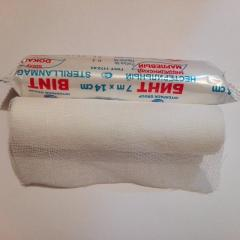 Bandage gauze unsterile