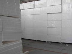 Plates facade insulation
