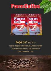 FormCoffee STRONG 20гр 3в1