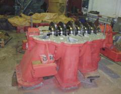 The K-250, K-500, K-525, TsTK-275/9 compressor