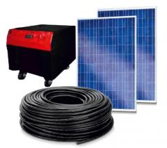 READY MINI-SOLAR PHOTO-ELECTRIC SYSTEM