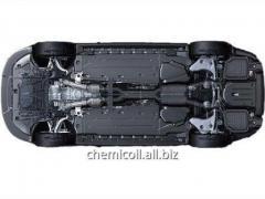 Anti-corrosion bottom of cars