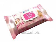Детские влажные салфетки Baby Lux 120/12 Арт: В509