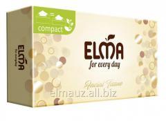 Диспенсерные салфетки 2х-слойные Elma - auto Box