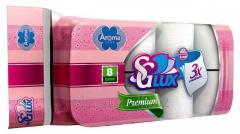 Туалетная бумага 3-слойная Арома Арт: Т104