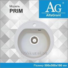 Кухонная мойка AlfaGrant модель PRIM (AG-001).