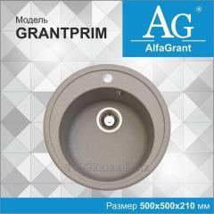 Кухонная мойка AlfaGrant модель GRANTPRIM (AG-002).
