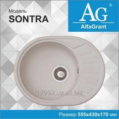 Кухонная мойка AlfaGrant модель SONTRA (AG-003).