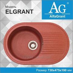 Кухонная мойка AlfaGrant модель ELGRANT (AG-004).
