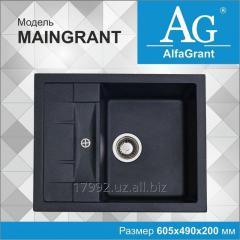 Кухонная мойка AlfaGrant модель MAINGRANT (AG-005).