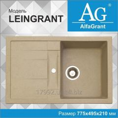 Кухонная мойка AlfaGrant модель LEINGRANT (AG-006).