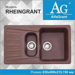 Кухонная мойка AlfaGrant модель RHEINGRANT (AG-008).