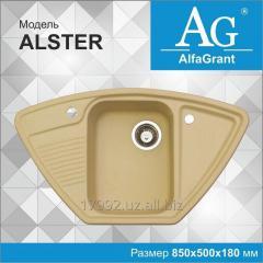 Кухонная мойка AlfaGrant модель ALSTER (AG-010).