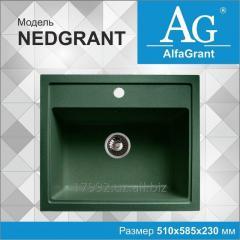 Кухонная мойка AlfaGrant модель NEDGRANT (AG-011).