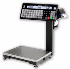 Весы CAS ВПМ-15.2-Т электронные печатающие Масса-К