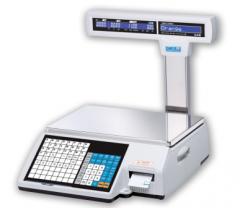 Весы системные с принтером CAS CL(5000J-15CP)