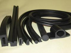 Rubber products reinforced with metal,