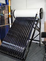 Cолнечный водонагреватель COMPACT-200 с тепловыми трубками Heat Pipe. Система под давлением всесезонного использования