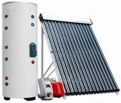 Солнечная сплит-система для ГВС и отопления дома