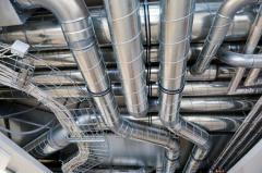 Изготовление и монтаж воздуховодов